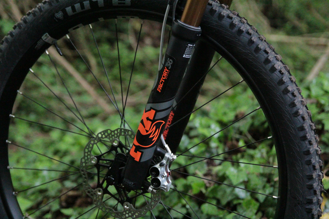 FOX 36 Fit Grip 2 - model 2019