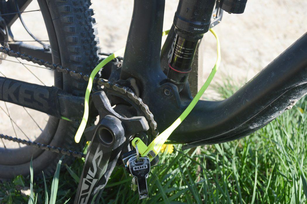 Zabezpieczenie roweru - Hiplok Z-Lok