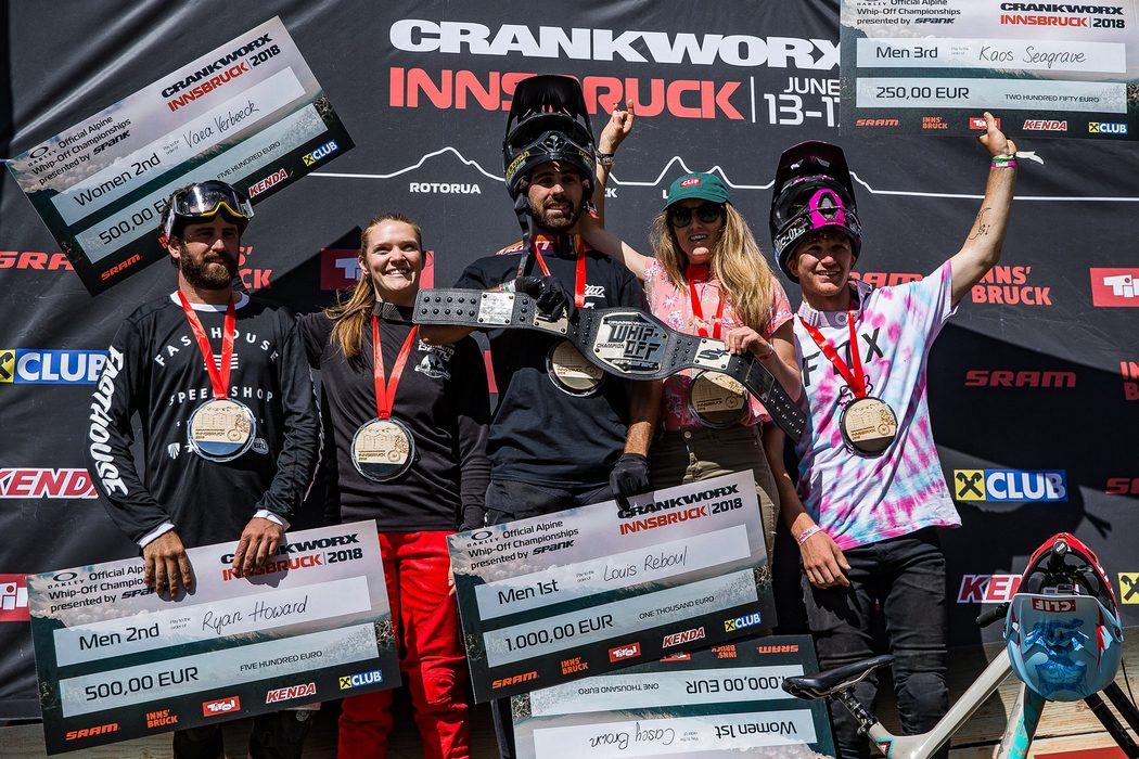 Crankworx Innsbruck 2018: Tomas Lemoine wygrywa Speed & Style