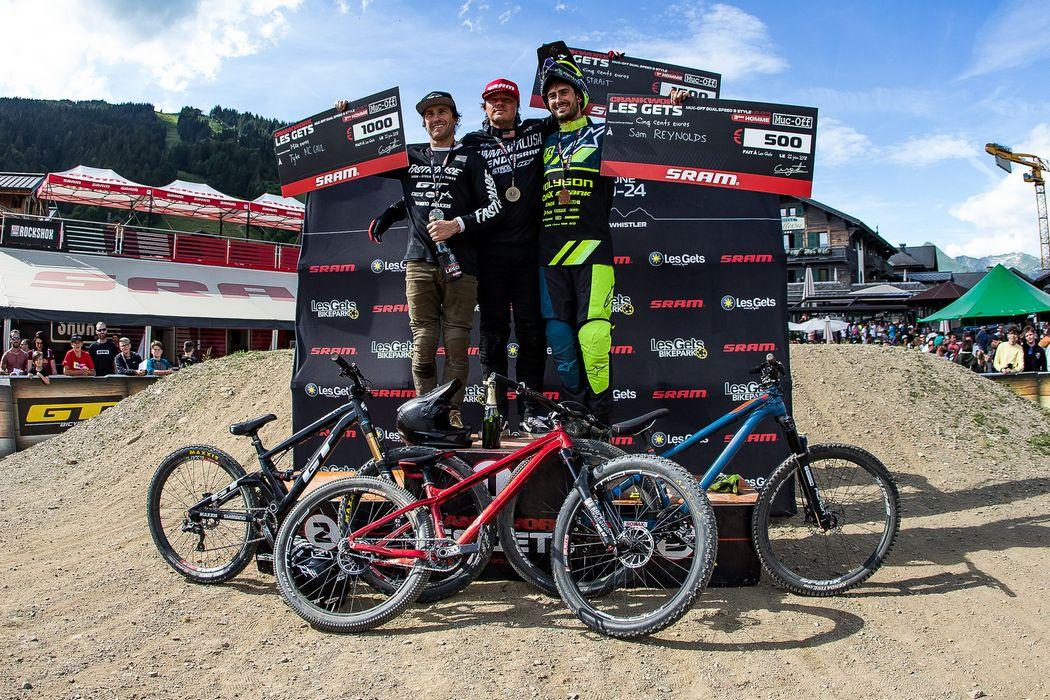 Crankworx Les Gets 2018: Nicholi Rogatkin wygrywa slopestyle w wielkim stylu