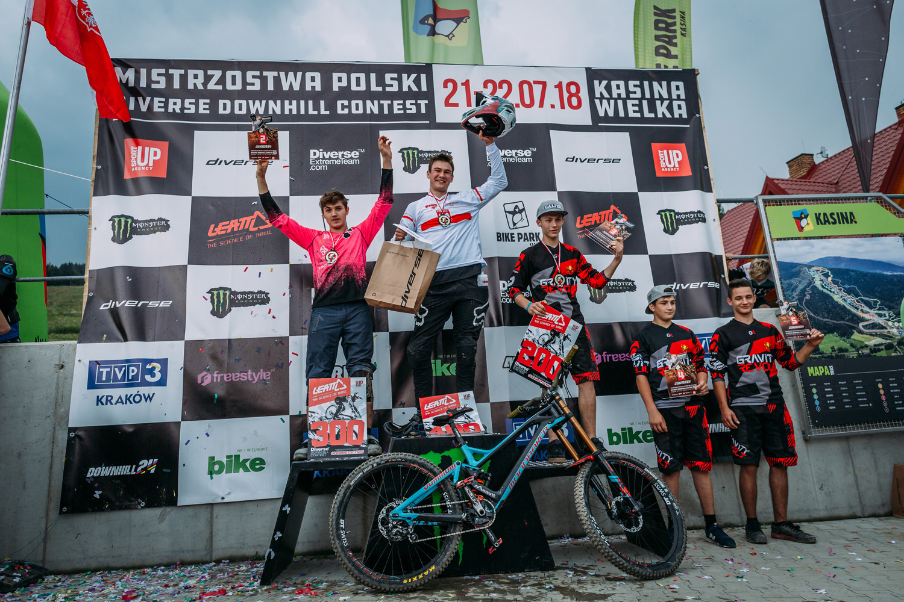 Mistrzostwa Polski Diverse Downhill Contest: znamy nowych Mistrzów Polski w zjeździe na rowerach!