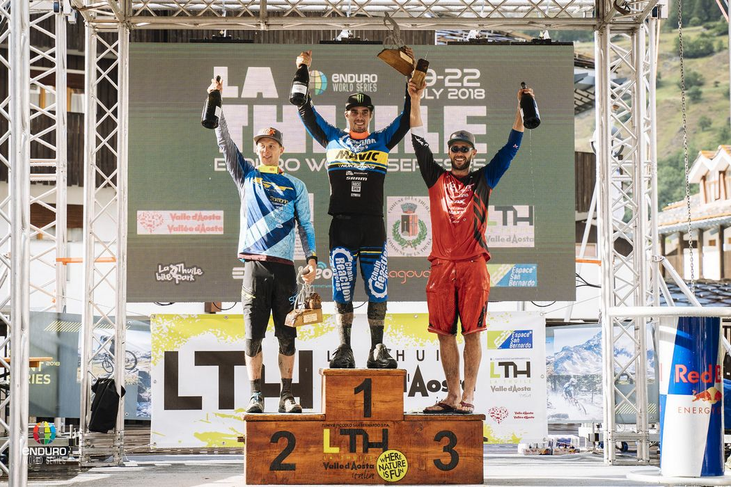 Enduro World Series 2018 #5: Ravanel i Hill wygrywają w La Thuile