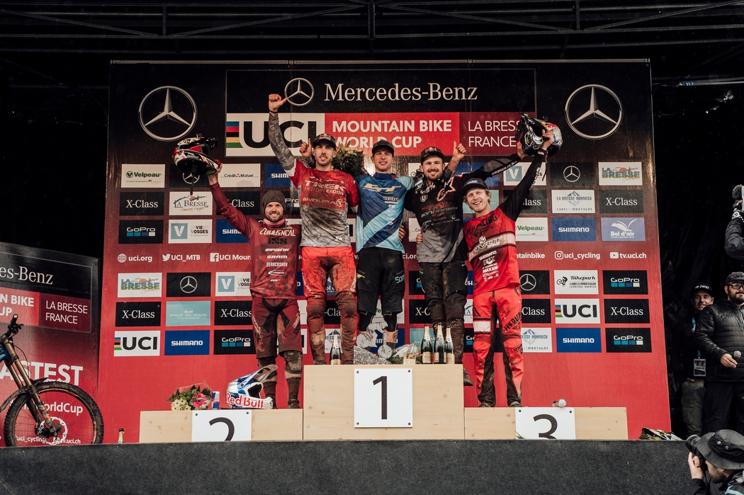Puchar Świata DH 2018 #7: Rachel Atherton i Martin Maes triumfują na koniec sezonu w La Bresse