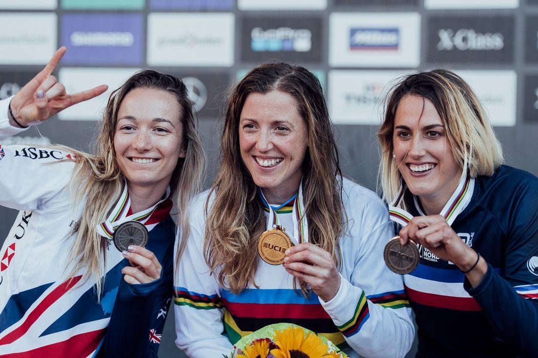 Mistrzostwa Świata DH 2018: Loic Bruni i Rachel Atherton triumfują w Lenzerheide