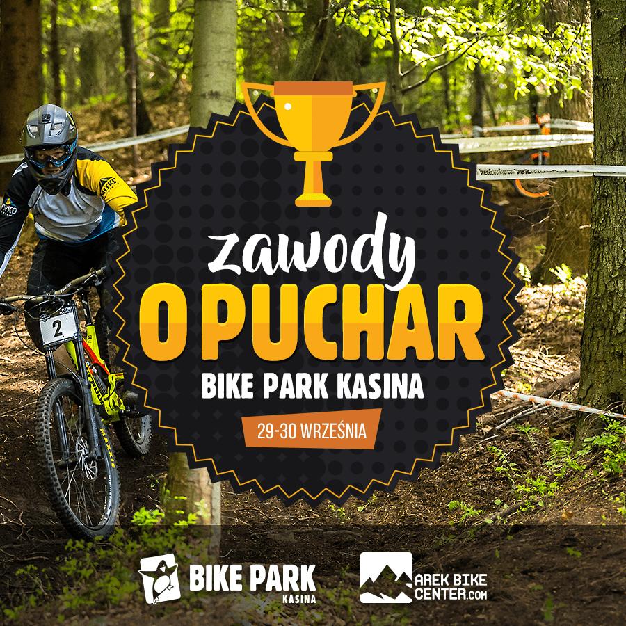 Zawody rowerowe o puchar Bike Park Kasina